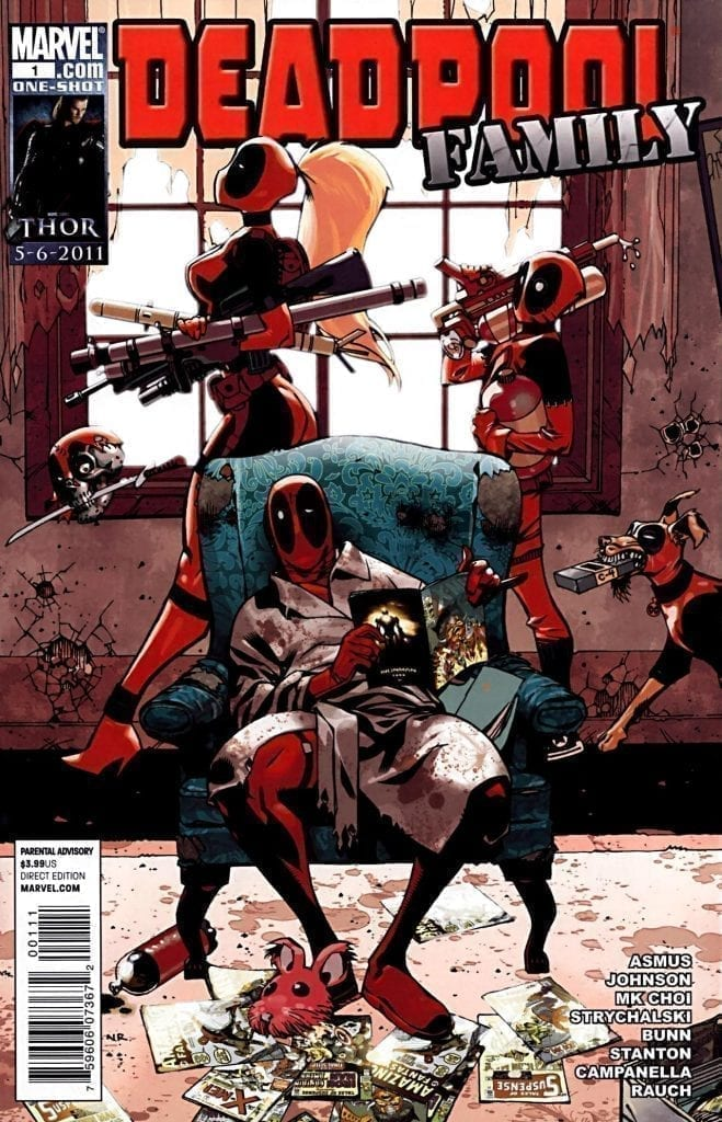 Marvel Comics Deadpool Family