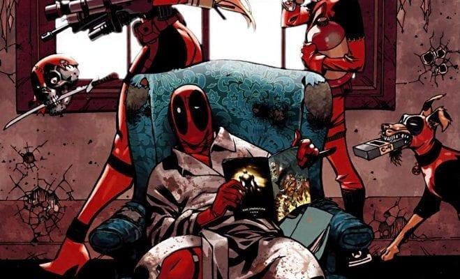 Marvel Comics Deadpool Family