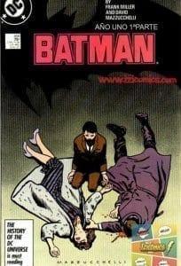 Ver Comic Batman Año uno