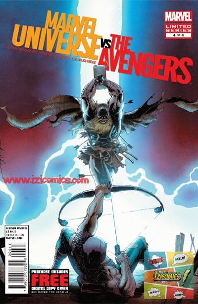 Ver Comics Marvel vs Avengers