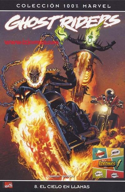 Marvel Comics Ghost Rider: El Cielo en llamas