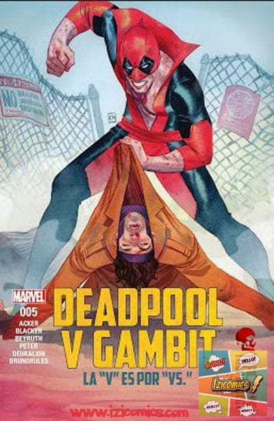 Descargar Comic Deadpool vs Gambit