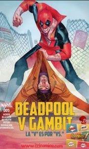 Descargar Comic Deadpool vs Gambit