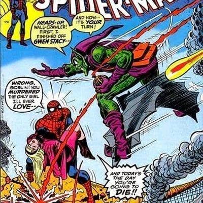 Spider-man La Muerte de Gwen Stacy
