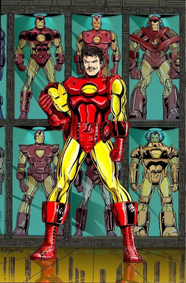 iron man Superheroes y Villanos mas Ricos de los Comics