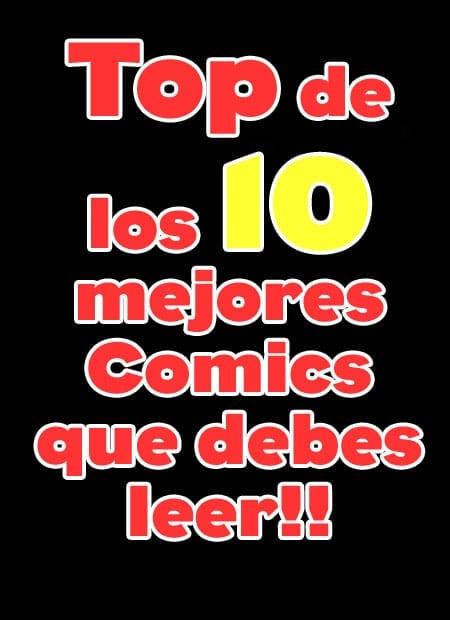 10 comics que debes leer antes de morir