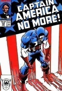 Captain America No More