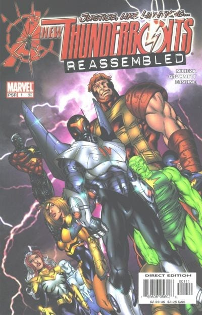 Leer Comics New Thunderbolts