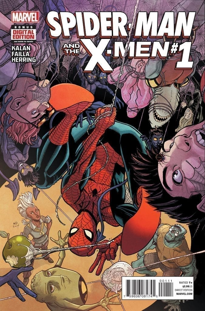 Spider-Man And The X-Men Volumen 1