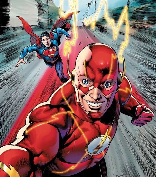Flash y Superman