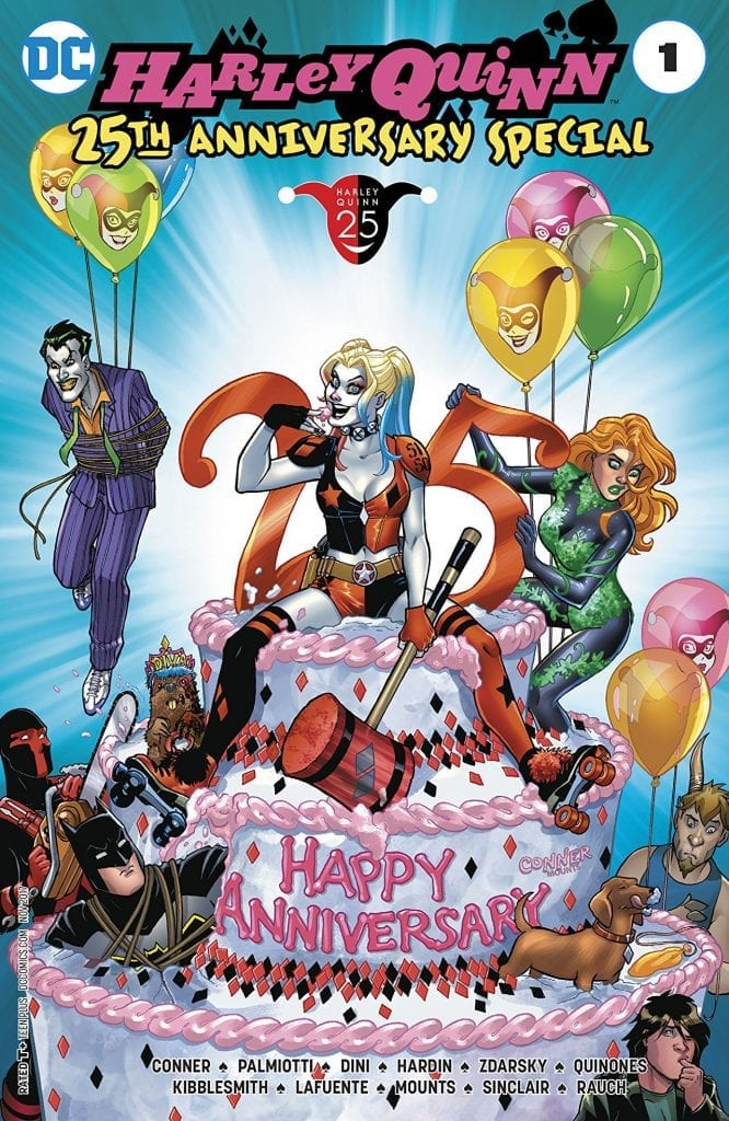 Ver Comic Harley Quinn 25th Anniversary Special #1