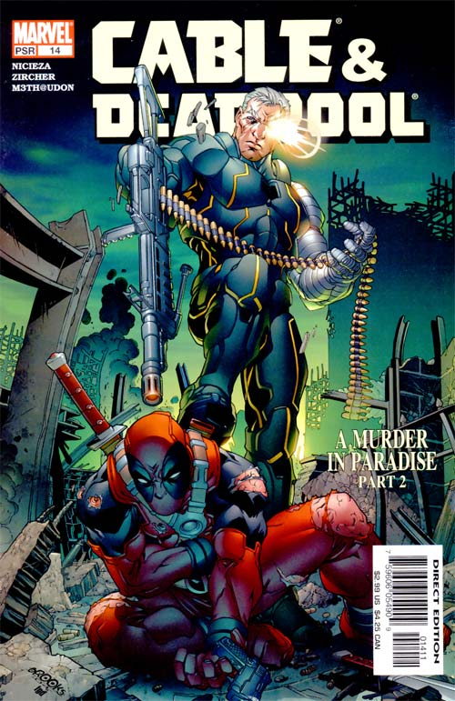 Leer Comic Cable y Deadpool