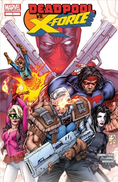 Leer Comic Deadpool vs X-Force Completo