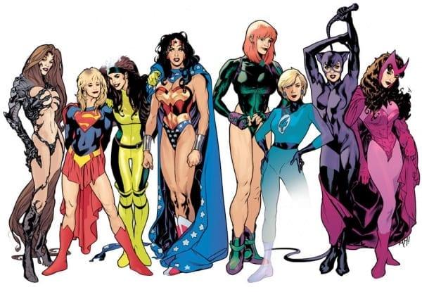 Las 5 heroinas de los comics más valientes de todos los tiempos
