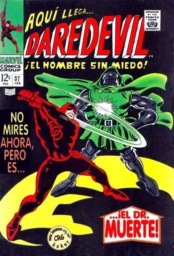 Daredevil-Dr Doom Swap (1968)
