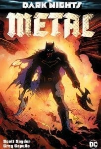 Comic Dark Nights Metal