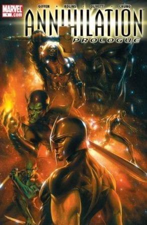 Annihilation comic completo