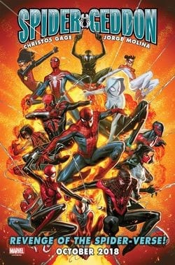 Spider-Geddon comic (2018)