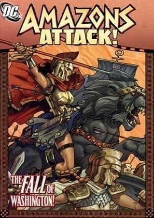 Wonder Woman El Ataque de Las Amazonas