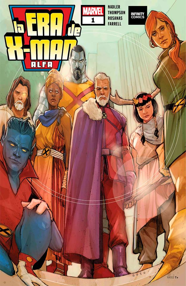 Descargar Comic Age of X Man Alpha
