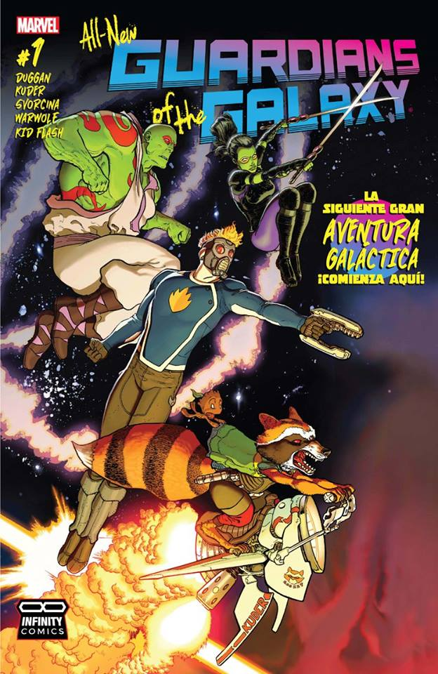 Comic All New Guardians of the Galaxy #01