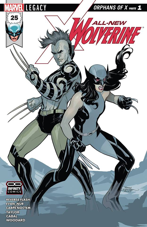 Comic All-New Wolverine #25.