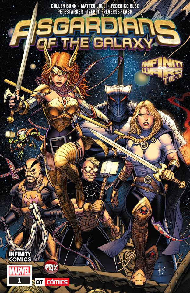 Comic Asgardians Of The Galaxy Vol.1
