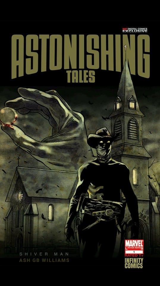 Comic Astonishing Tales Shiver Man [One-Shot]