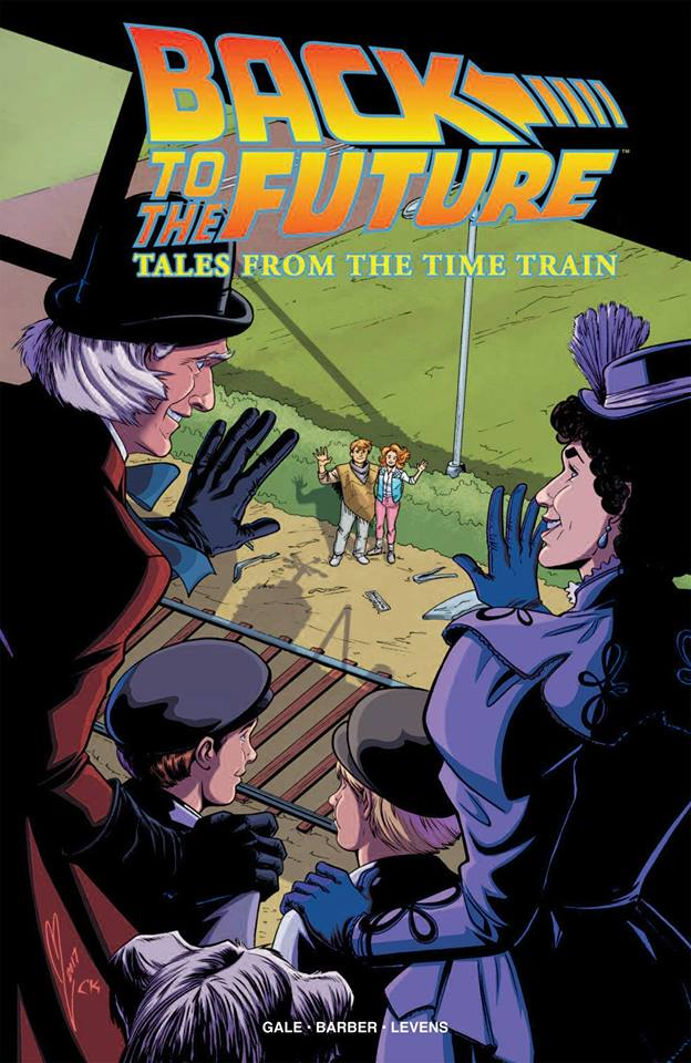Comic Back to the future: Tales from the time train