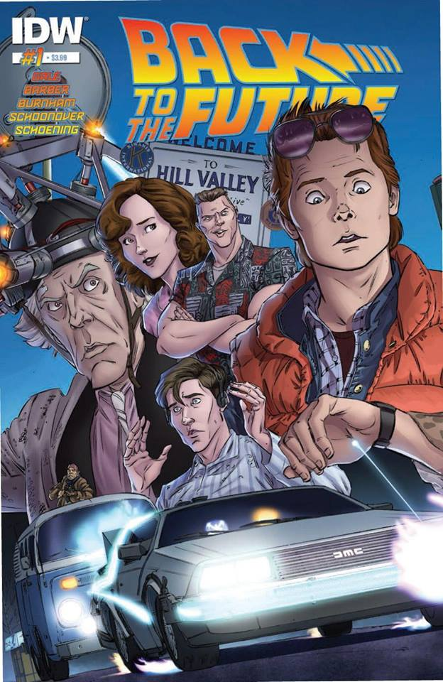 Comic Back to the future