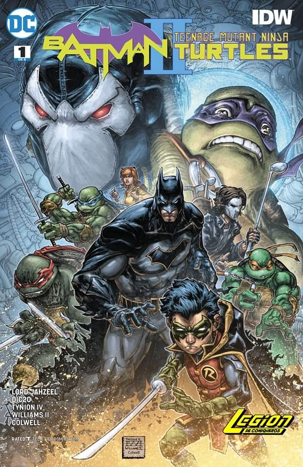 Comic Batman - Teenage Mutant Ninja Turtles II #1