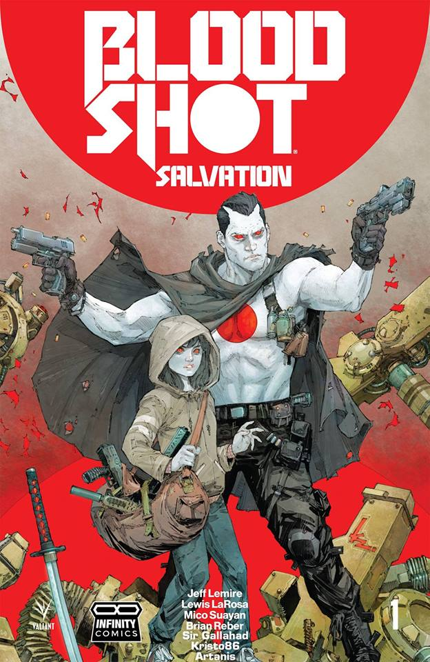 Comic Bloodshot Salvation