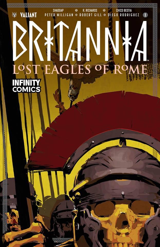 Comic Britannia: Lost Eagles of Rome