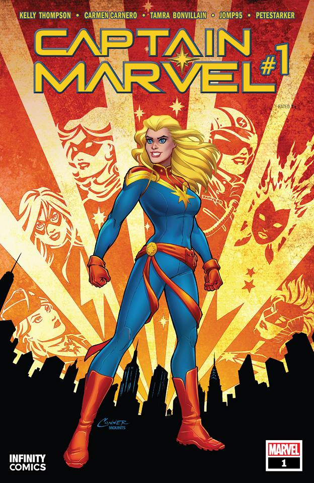 Comic Captain Marvel Vol. 10 #01