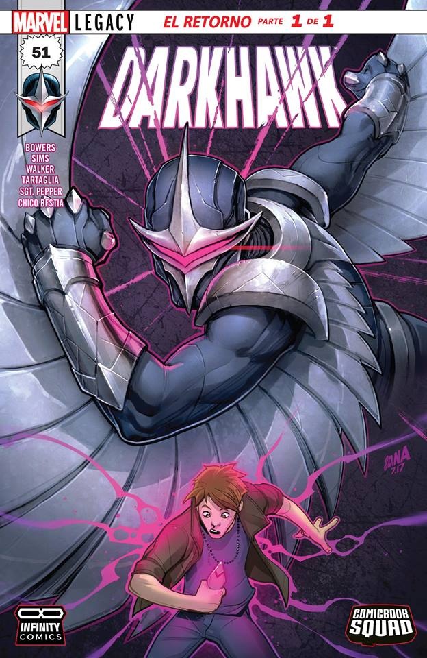 Comic Darkhawk #51