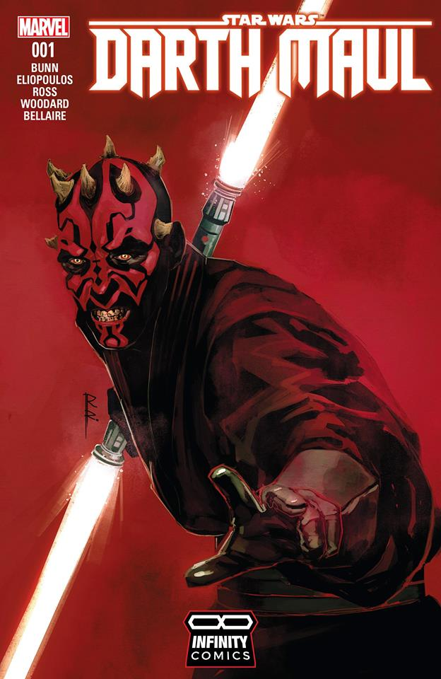 Comic Darth Maul