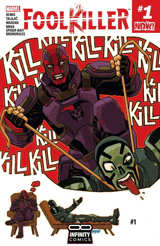 Comic Foolkiller Vol. 3