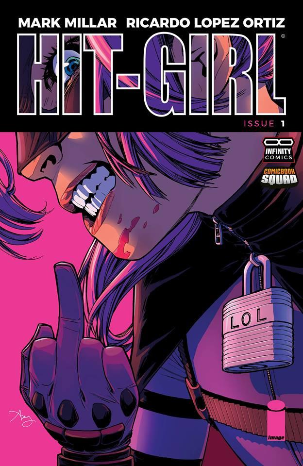 Comic HIt-Girl