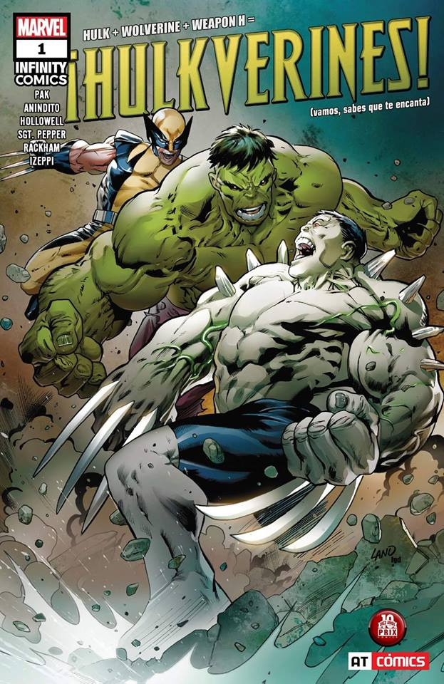 Comic Hulkverines Vol. 1