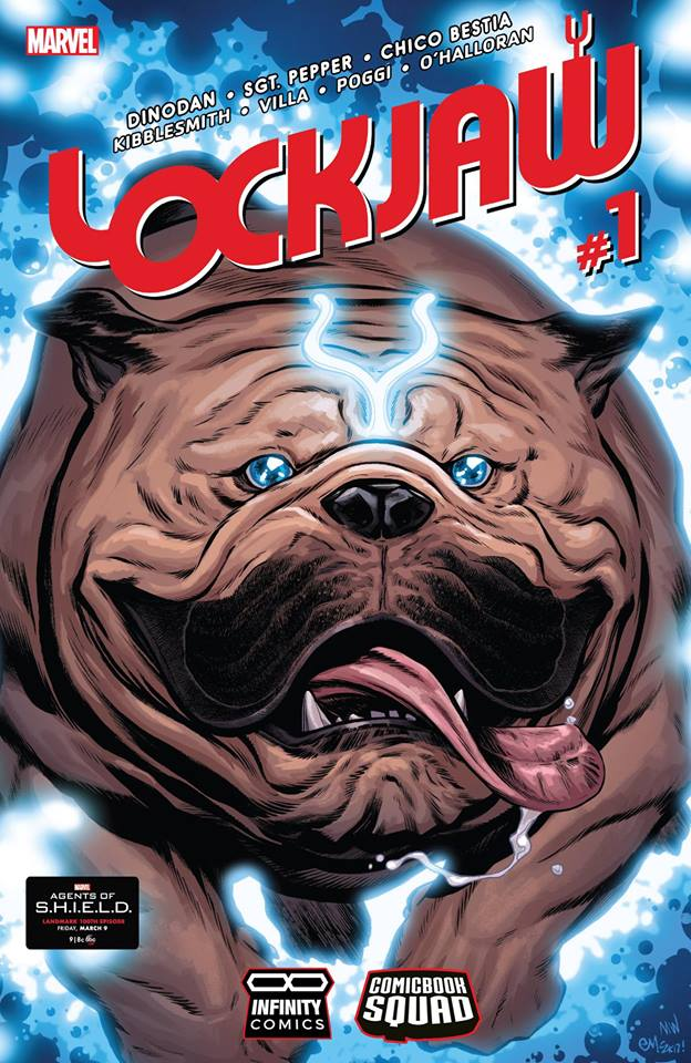 Comic Lockjaw
