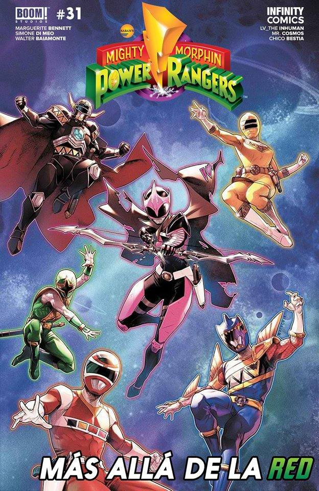 Comic Mighty Morphin' Power Rangers - Beyond The Grid #01