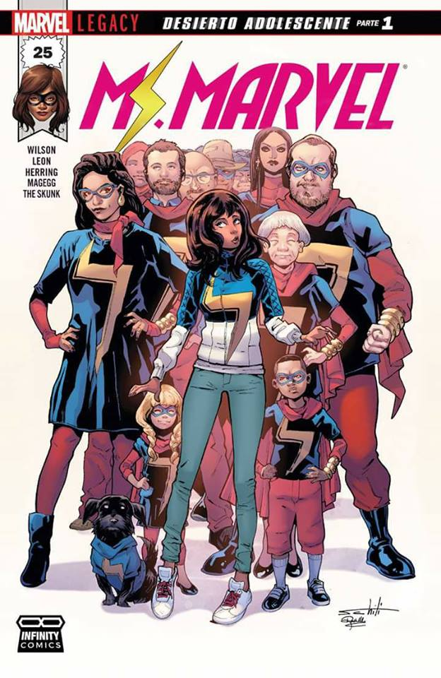 Comic Ms. Marvel Vol.4