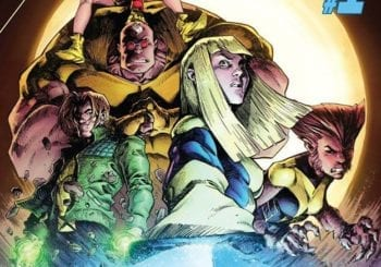 Comic New Mutants: Dead Souls