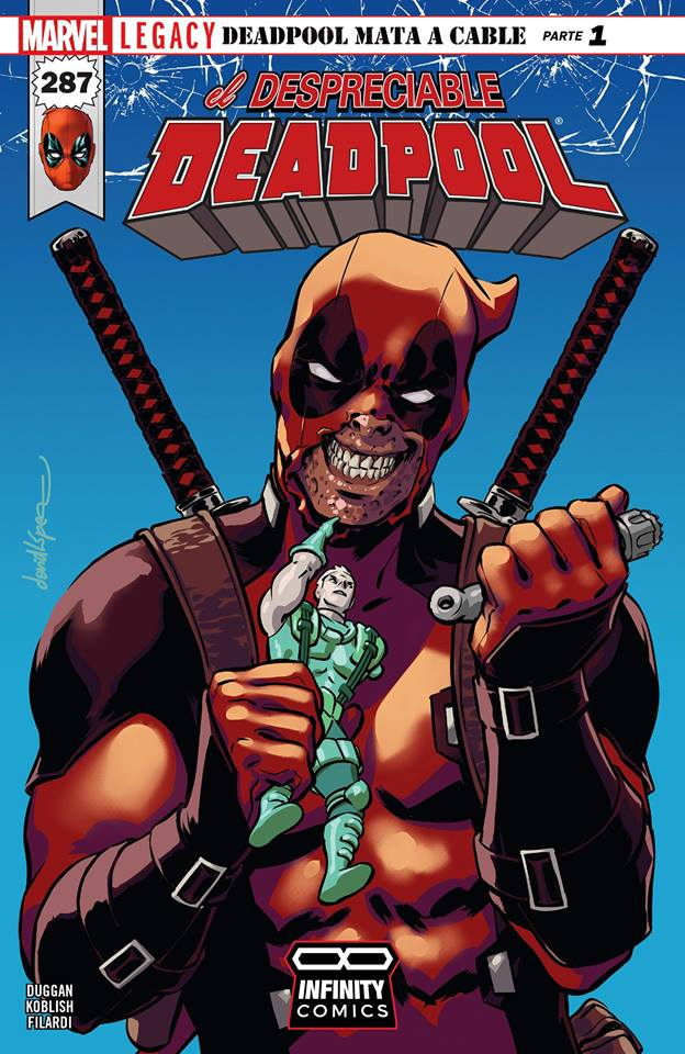 Comic Despicable Deadpool