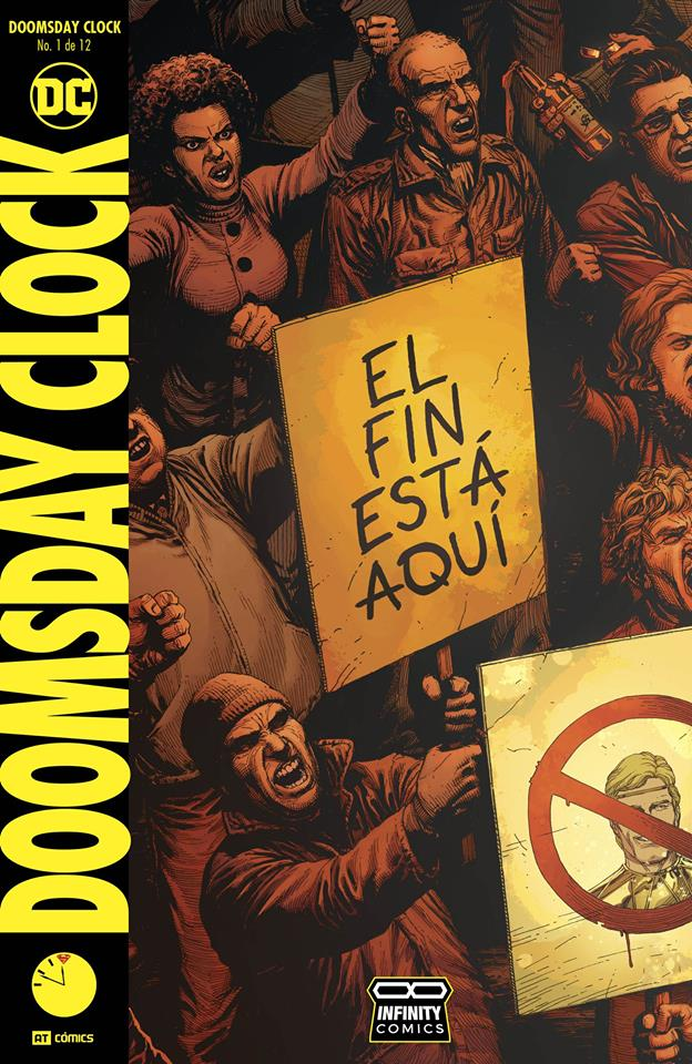 Comic Doomsday Clock