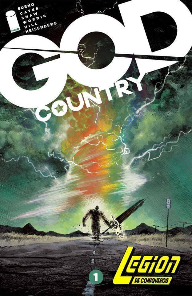 Comic God Country Vol.1