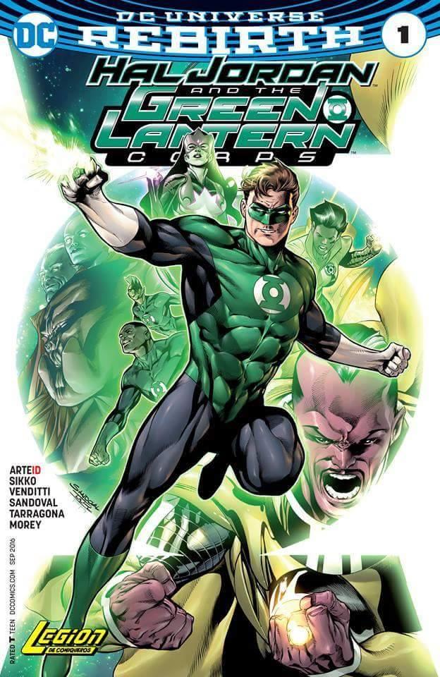 Comic Hal Jordan y los Green Lantern Corps Vol. 1