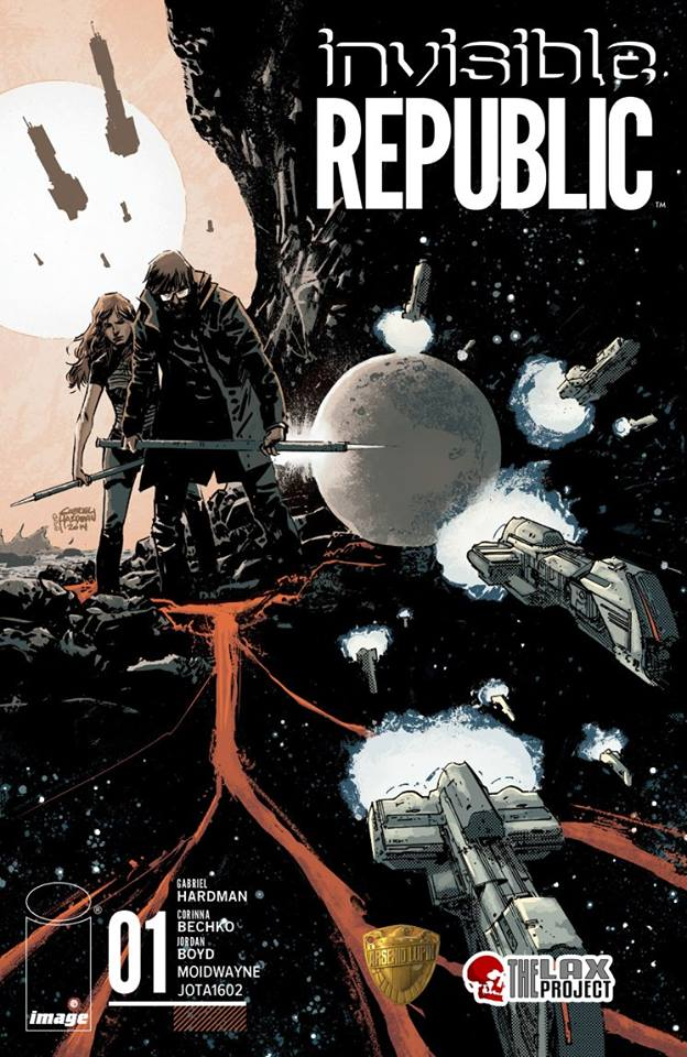Comic Invisible Republic