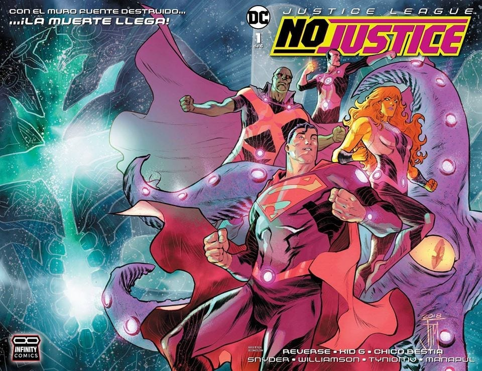 Comic Justice League NO JUSTICE