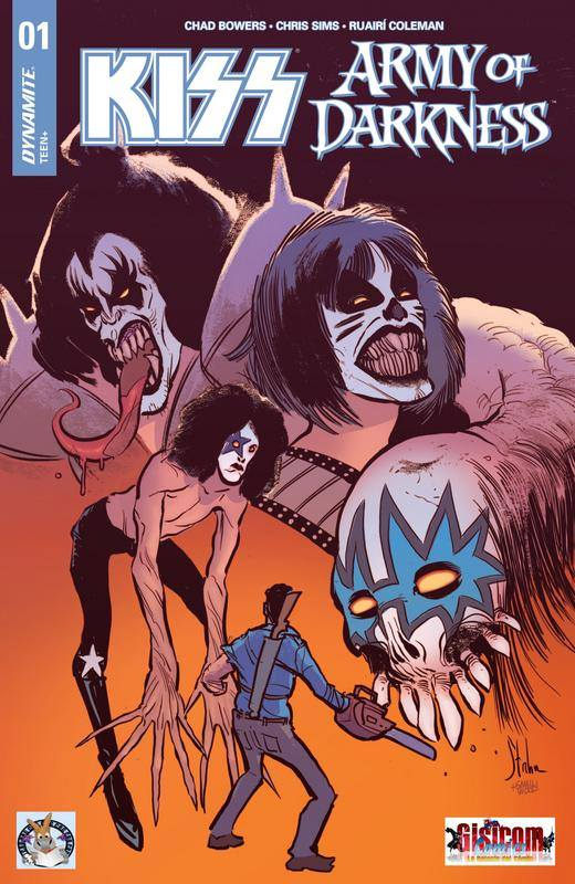 Comic KISS vs Army of Darkness